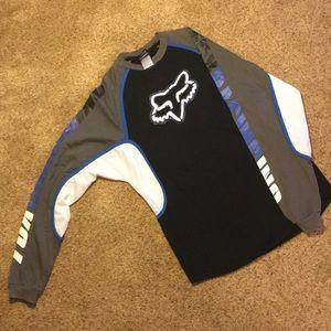 FOX racing tee with mesh under arm/sleeves